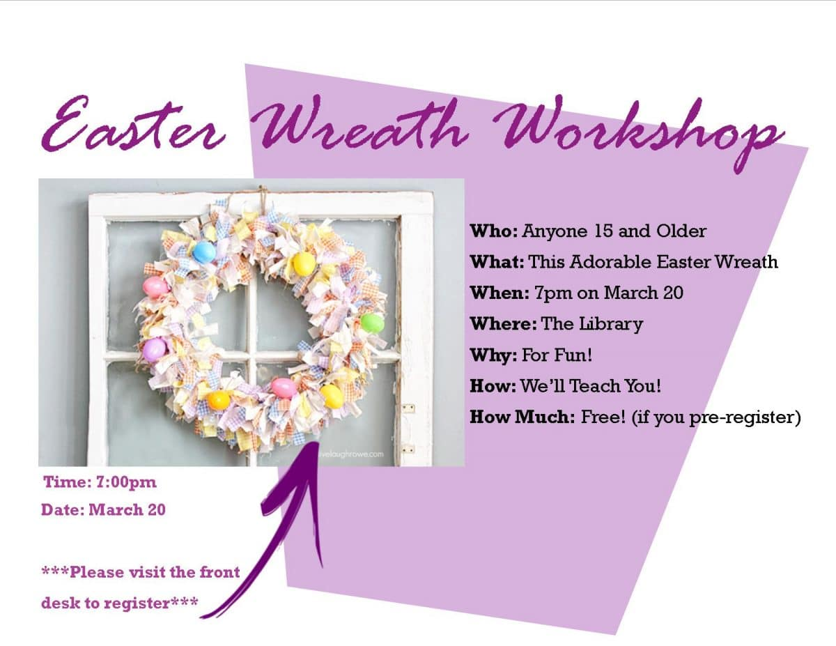 Make a Wreath With Us!