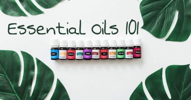 Essential Oils 101 with Rashelle Schrag