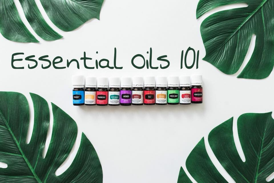 Essential Oils 101 with Rashelle Schrag