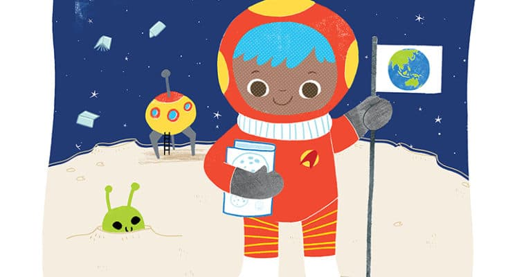 Astronaut Training at the library