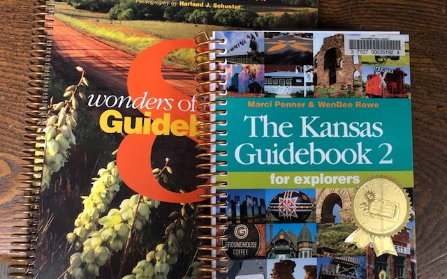 8 Wonders of Kansas Guidebook and The Kansas Guidebook 2 for Explorers by Marci Penner and WenDee Rowe